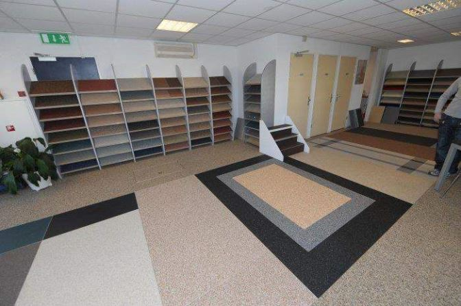 DEPOXY grindvloeren als het gaat om een grindvloer, epoxy vloer of ...