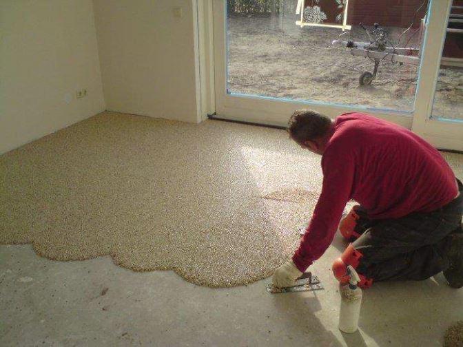 Onderhoud grindvloer ? schakel depoxy in